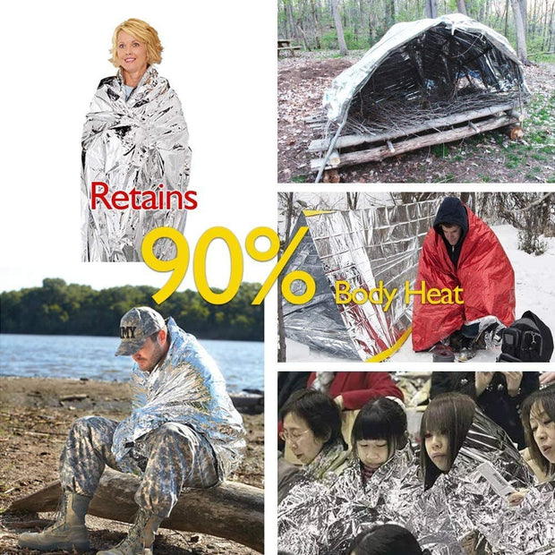 Foil Thermal Emergency Blanket - Halex Outdoor Gear