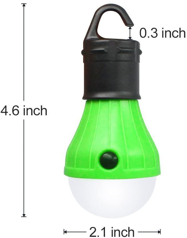 Outdoor Hanging LED Tent Light Bulb - Halex Outdoor Gear / Survival / Tactical
