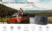 4K/30fps 20MP WiFi Action Camera - Halex Outdoor Gear / Survival / Tactical