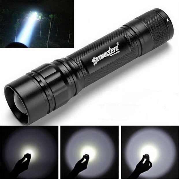 3-Mode 3000LM Waterproof LED Flashlight - Halex Outdoor Gear