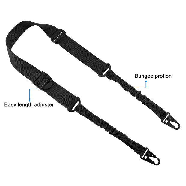Military Style 2-Point Gun Sling Shoulder Strap - Halex Outdoor Gear / Survival / Tactical