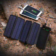 10000mAh Solar Power Battery Bank for Mobile Devices - Halex Outdoor Gear / Survival / Tactical