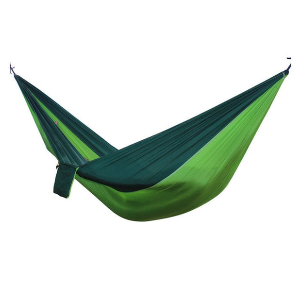 2-Person Parachute Camping Hammock w/ Tree Straps - Halex Outdoor Gear