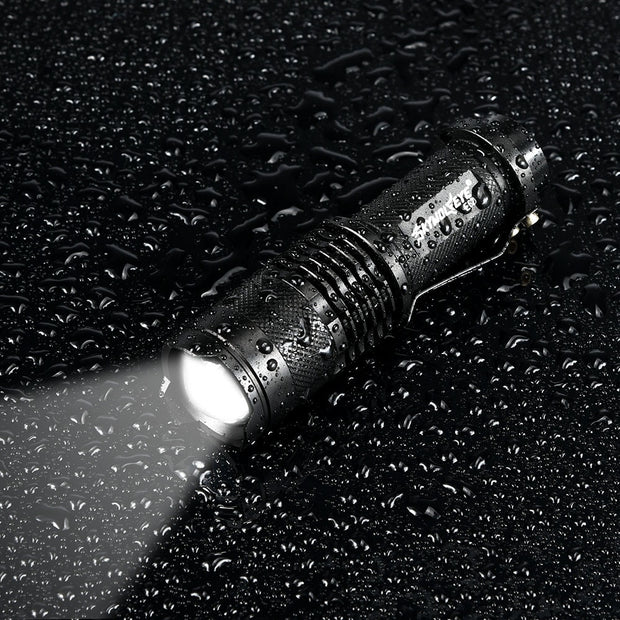 4-Mode 5000LM Zoom Flashlight - Halex Outdoor Gear / Survival / Tactical