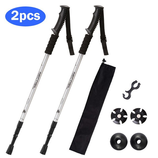 Dual Anti-Shock Trekking Poles - Halex Outdoor Gear / Survival / Tactical