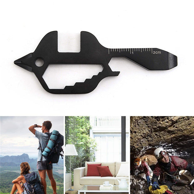 7-in-1 Mini Keychain Multi-Tool - Halex Outdoor Gear
