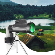 12x50 Zoom HD Monocular Telescope - Halex Outdoor Gear / Survival / Tactical