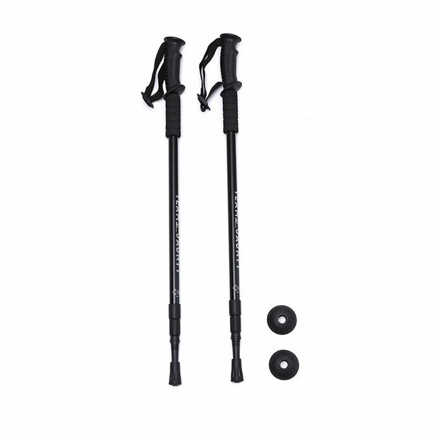 Anti-Shock Dual Hiking Trail Poles - Halex Outdoor Gear / Survival / Tactical
