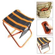 Compact Folding Portable Stool - Halex Outdoor Gear / Survival / Tactical
