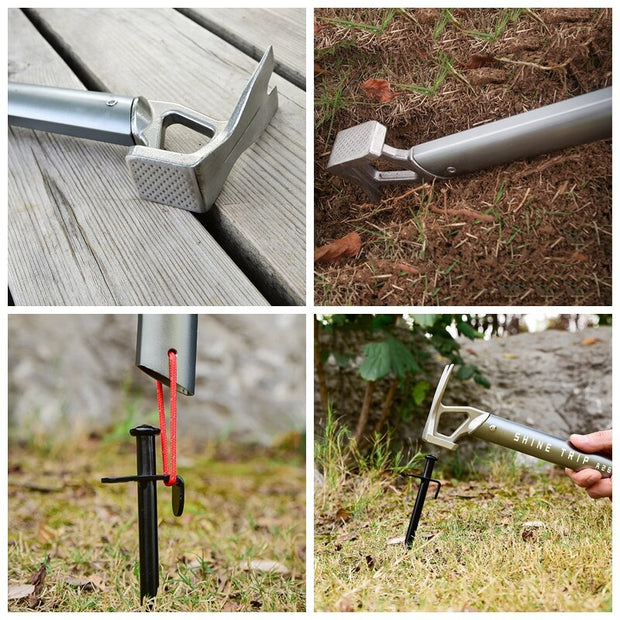 Heavy Duty Tent Hammer & Stake Remover - Halex Outdoor Gear