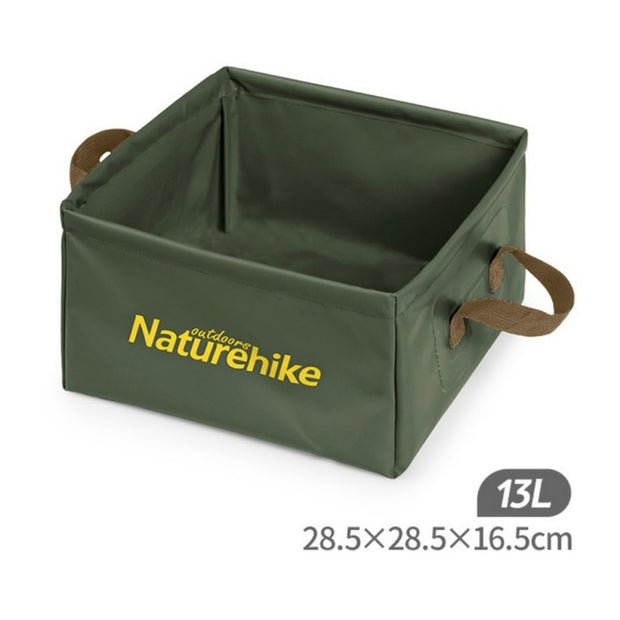 13L Folding Water Bucket - Halex Outdoor Gear / Survival / Tactical