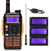 Two-way Radio Walkie Talkie with Car Charger - Halex Outdoor Gear / Survival / Tactical
