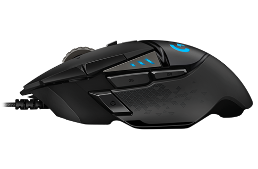 Logitech G502 HERO 高效能遊戲滑鼠 High Performance Gaming Mouse