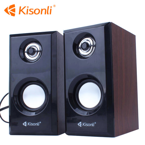 Kisonli T-001 電腦喇叭 (USB 供電) Speaker for Computer USB Powered