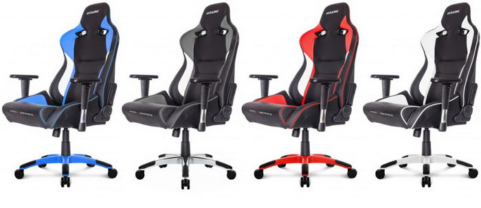 AKRacing ProX Gaming   Black /White / Red /Blue