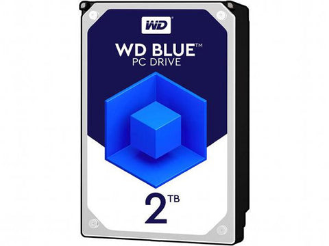 WD Blue 2TB SATA3 Desktop HDD (WD20EZAZ / 5400rpm / 256MB)