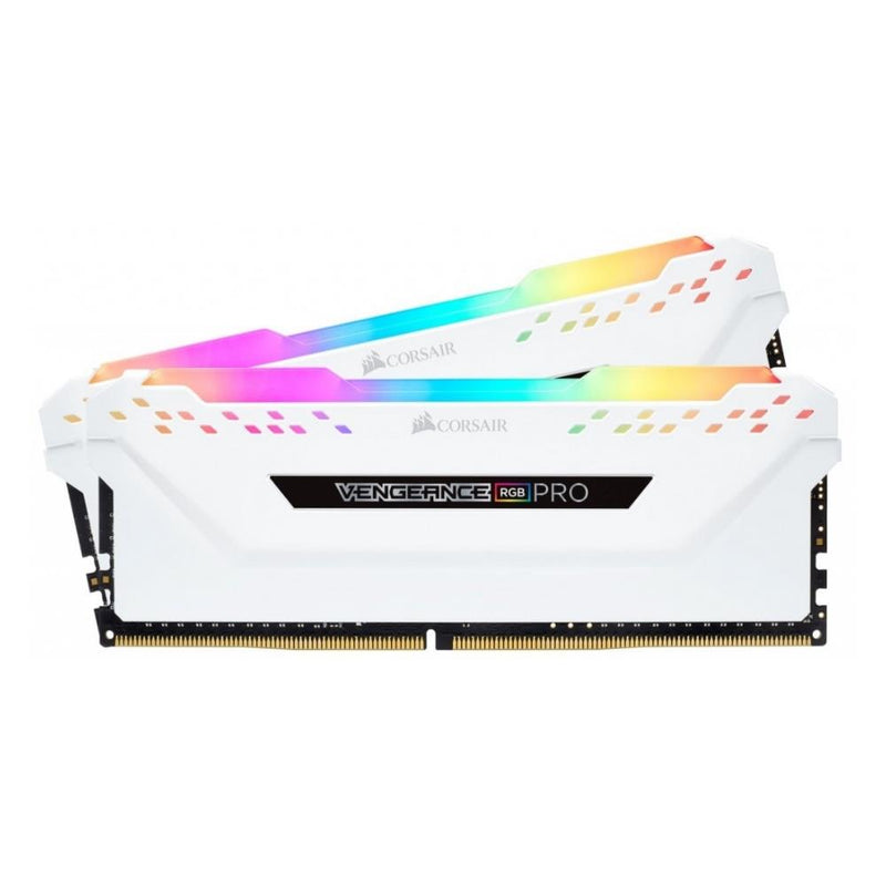 CORSAIR VENGEANCE RGB PRO 32GB (2x16GB) DDR4 3200MHz - Black/White
