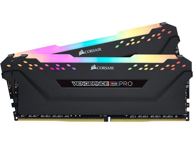 CORSAIR VENGEANCE RGB PRO 32GB (2x16GB) DDR4 2666MHz - Black/White