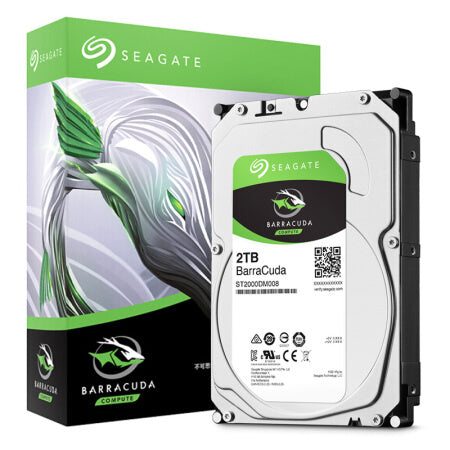 "Seagate 2TB BARRACUDA 3.5"" SATA HDD (ST2000DM008)"