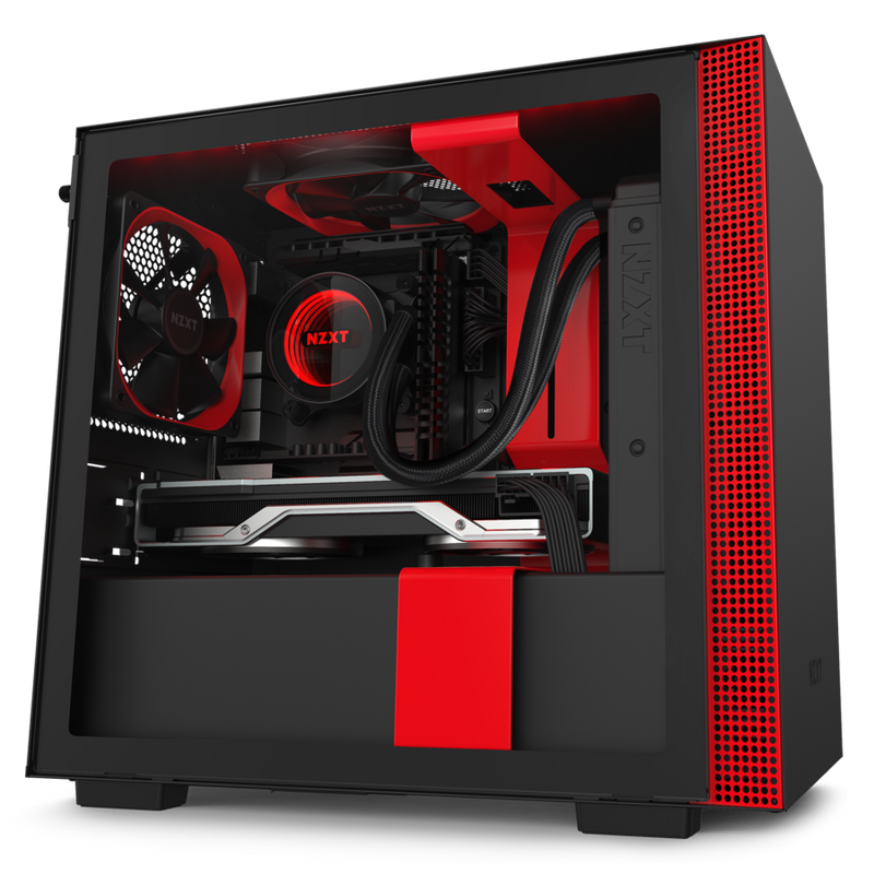 NZXT H210 Red