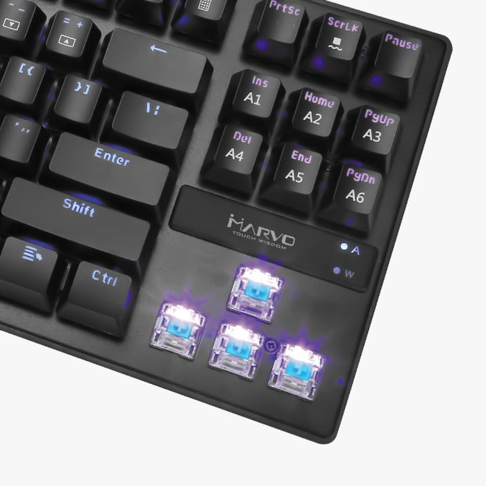 MARVO Scorpion KG901 Mechanical Gaming Keyboard Blue Swtich 青軸