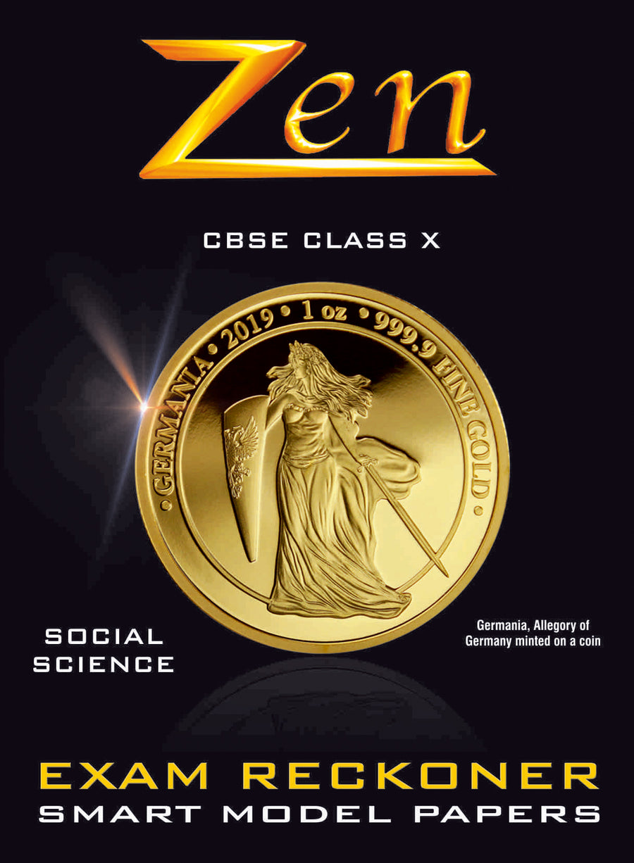 10th CBSE Zen Social Science Exam Reckoner 2020