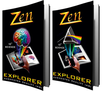 Zen SSLC Science Explorer Books 2021 [2 Volumes] - Augmented Reality Books + Demo App] Explorer 2021