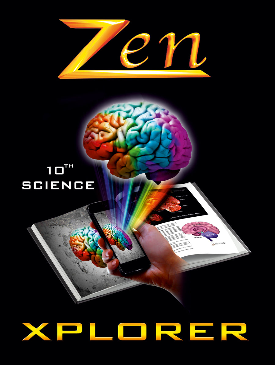 Rajasthan Zen Science Xplorer – Vol 1, 2, 3 & 4 (with Free Zen AR App) – 10th (CBSE)
