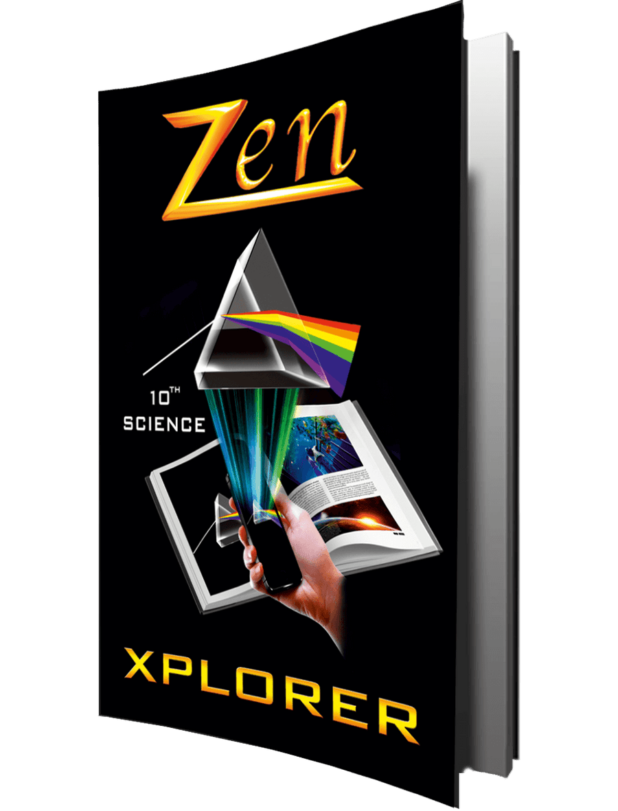 Science Xplorer – Vol 1, 2, 3 (with Free Zen AR App) – 10th (CBSE)