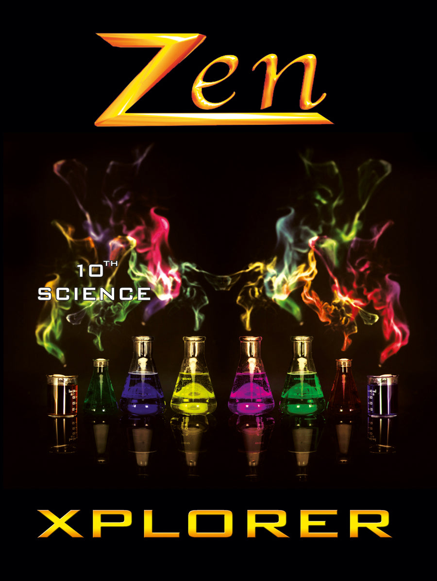Goa Zen Science Xplorer - Vol 1, 2, 3 & 4 (with Free Zen AR App) - 10th (CBSE)