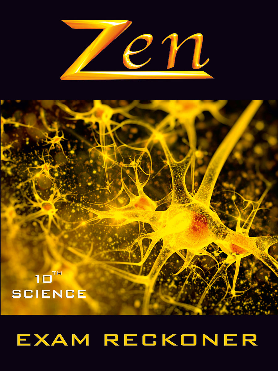 Uttarpradesh Zen Science Xplorer - Vol 1, 2, 3 & 4 (with Free Zen AR App) - 10th (CBSE)