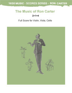 Ron Carter Scores for Cello, Violin, Viola