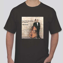 Load image into Gallery viewer, Ron Carter Planet of Elegance T shirt