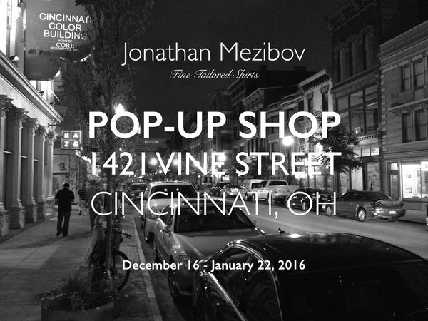 Pop-Up Opening Wednesday, December 16