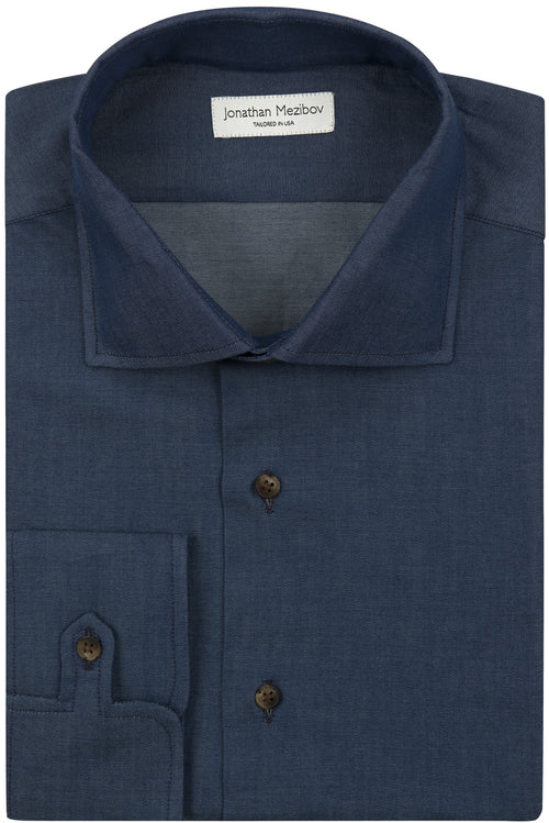 Classic-Fit Winthrop Denim Sport Shirt