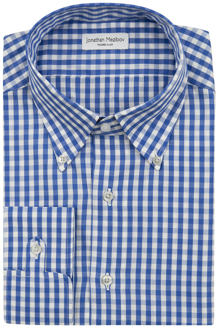 Tailored-Fit Pearson Gingham Sport Shirt