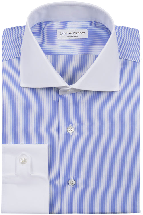 Slim-Fit Carmichael Striped Dress Shirt