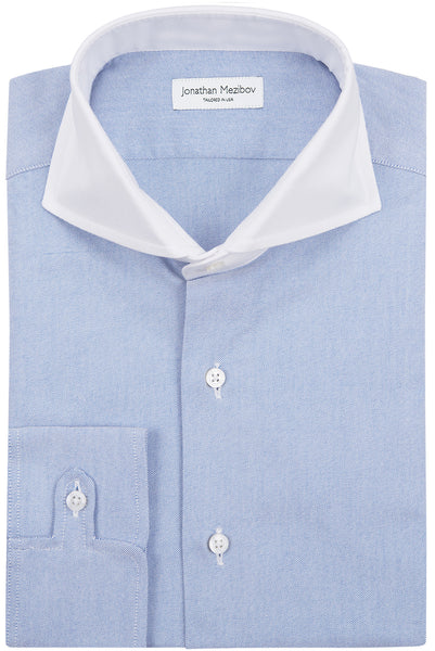 Slim-Fit Pearson Blue Oxford Sport Shirt