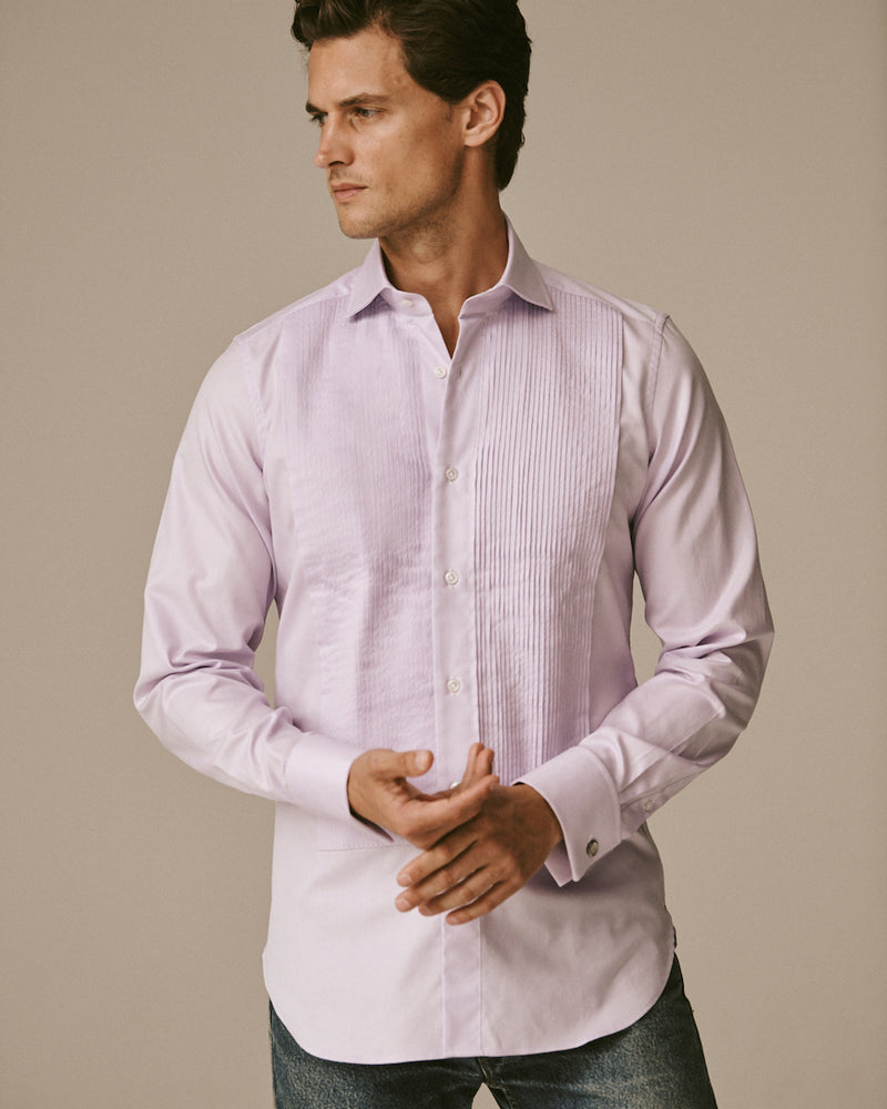 Royal Oxford Tuxedo Shirt