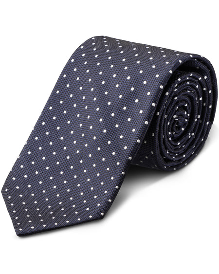 Textured Wool-Silk Tie