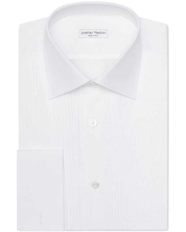 Jonathan Mezibov Italian-made Classic Collar Evening Shirt.