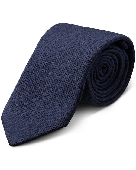 Purple Classic Knitted Tie