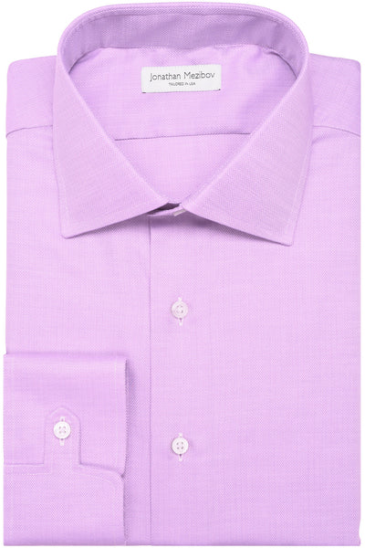 Classic-Fit Stratton Herringbone Dress Shirt