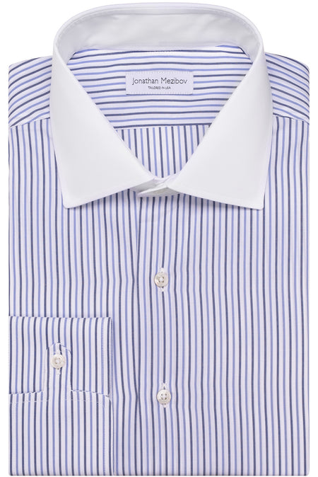 Tailored-Fit Bromfield Striped Dress Shirt