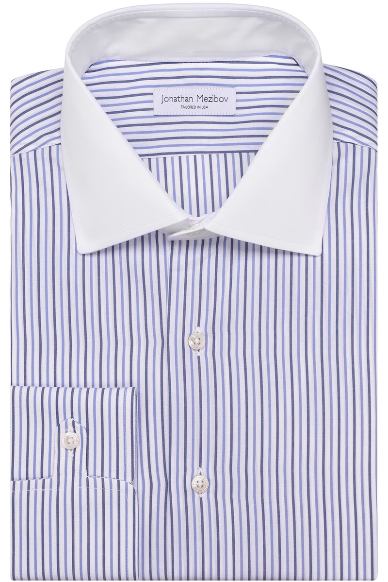 Slim-Fit Tilton Striped Dress Shirt