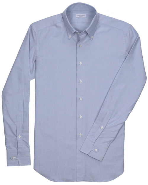 Slim-Fit Gordon Blue Oxford Sport Shirt