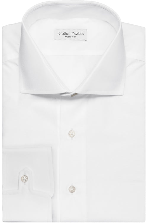 Slim-Fit Carmichael Solid Poplin Dress Shirt