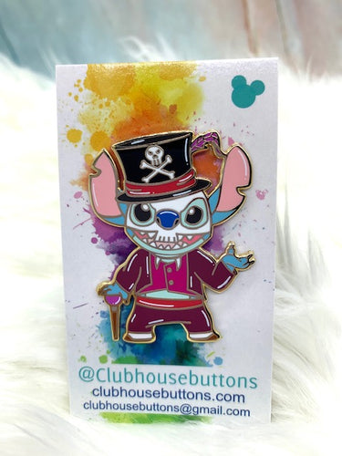 Stitch Dr.Facillier Pin