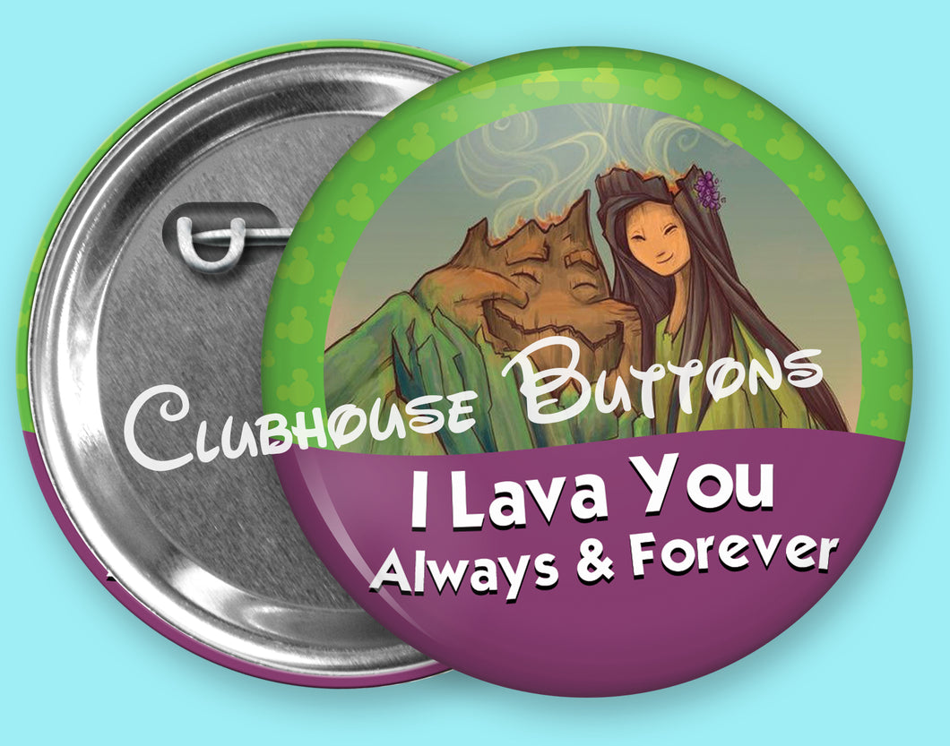 I Lava You Button