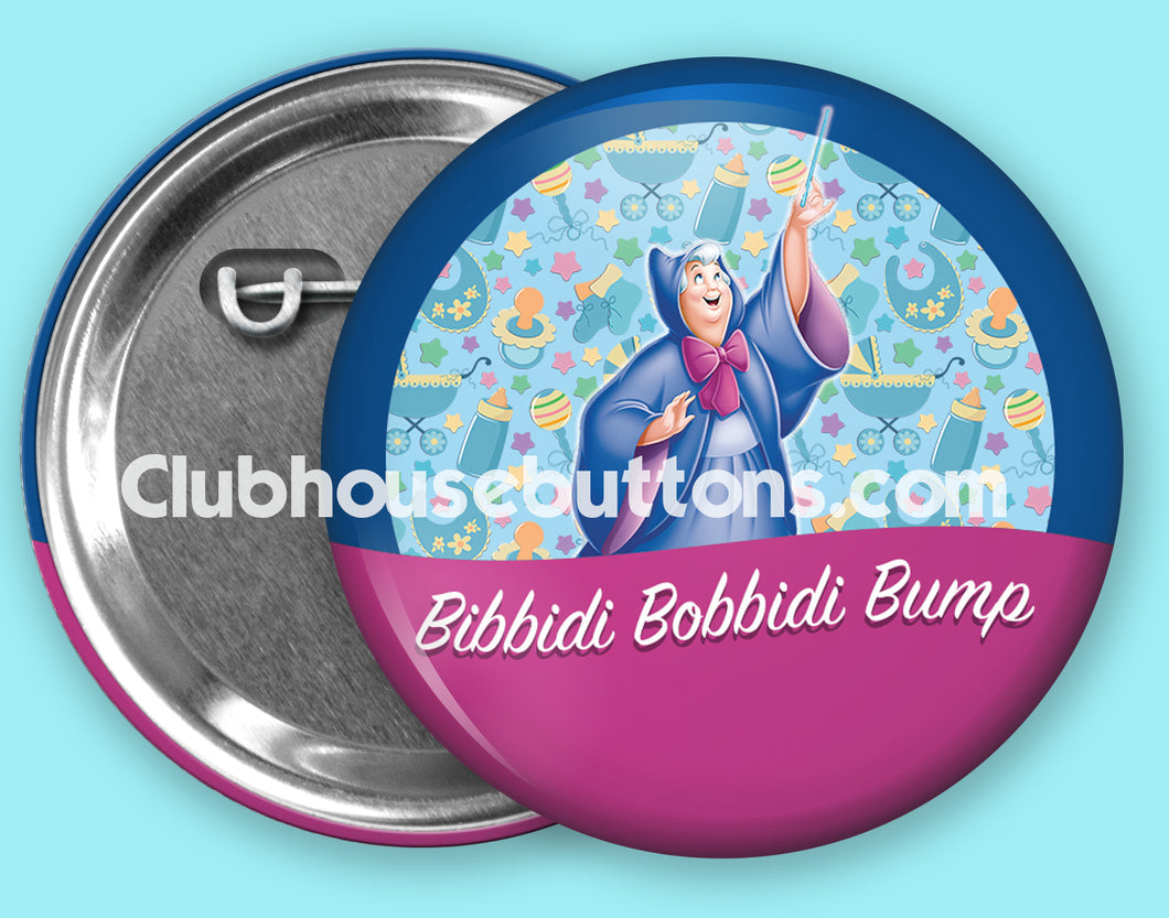 Bibbidi Bobbidi Bump Button